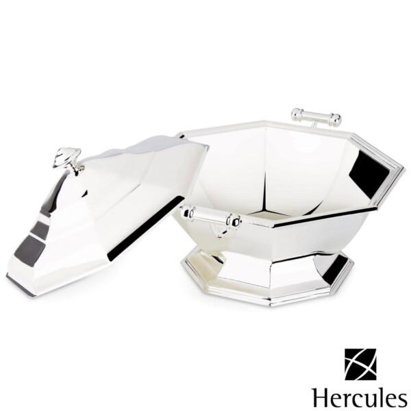 Sopeira com Tampa de Prata Ibiza 1,85 litro Hercules