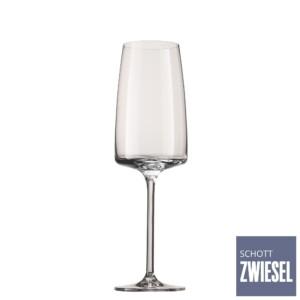 Cj. 6 Taças para Champagne (Flute) 388ml Schott Zwiesel Sensa de Cristal