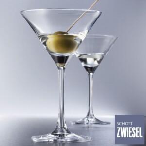 Cj. 6 Taças para Martini 166ml Schott Zwiesel Bar Special de Cristal
