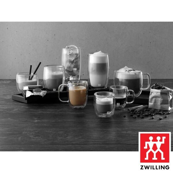 Cj. 2 Canecas para Café 355ml Parede Dupla Zwilling Sorrento
