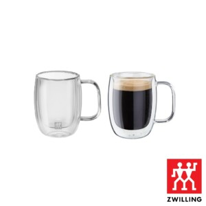 Cj. 2 Canecas para Espresso Duplo 134ml Parede Dupla Zwilling Sorrento