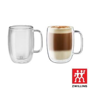 Cj. 2 Canecas para Latte 450ml Parede Dupla Zwilling Sorrento