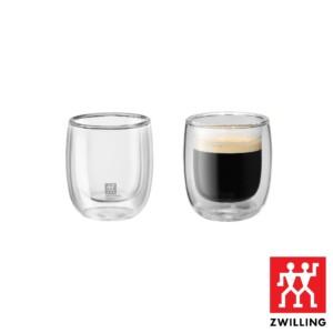 Cj. 2 Copos para Espresso 80ml Parede Dupla Zwilling Sorrento