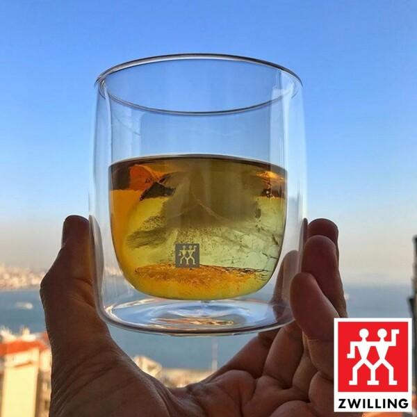 Cj. 2 Copos para Whisky 266ml Parede Dupla Zwilling Sorrento