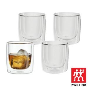 Cj. 4 Copos para Whisky 266ml Parede Dupla Zwilling Sorrento
