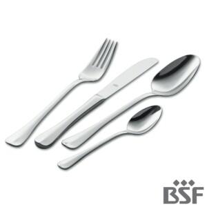 Faqueiro BSF 30 Peças Baguette de Aço Inox