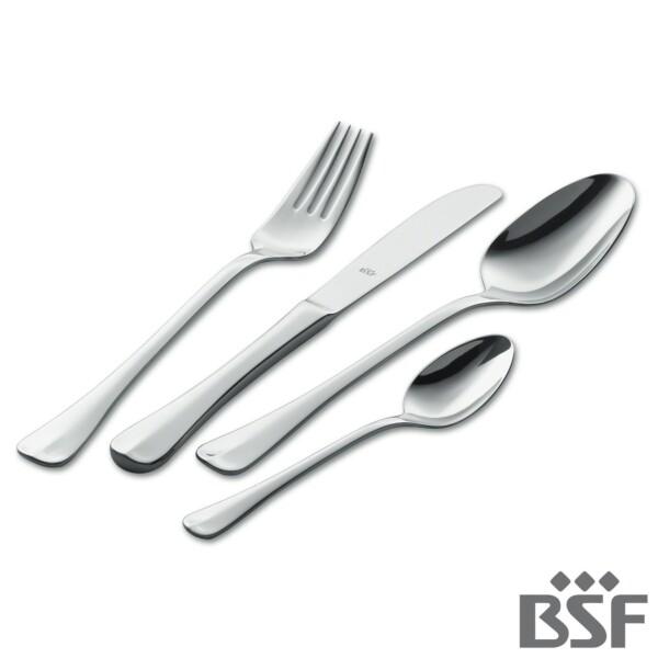 Faqueiro BSF 45 Peças Baguette de Aço Inox