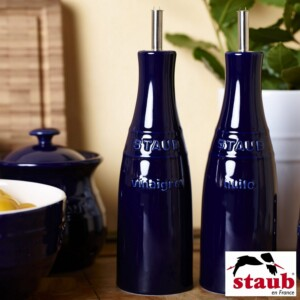 Cj. Óleo e Vinagre Staub Ceramic 250ml Azul Marinho