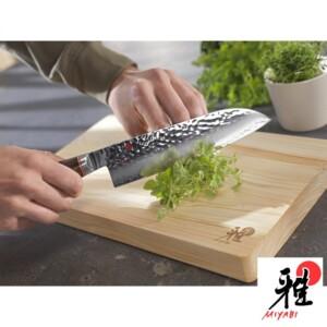 Faca Santoku 180mm Miyabi Artisian 6000MCT de Aço Inox