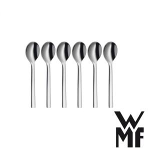 Colher para Espresso WMF Nuova 6 Peças de Aço Inox