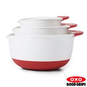 Conjunto Bowl para Preparo Oxo Soft Works Antiderrapante 3 Peças