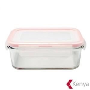 Pote Hermético Retangular 1 litro Kenya