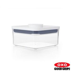 Pote Quadrado 750ml Oxo Pop 2.0 com Fechamento Hermético
