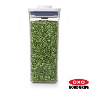 Pote Retangular 2,6 litros Oxo Pop 2.0 com Fechamento Hermético