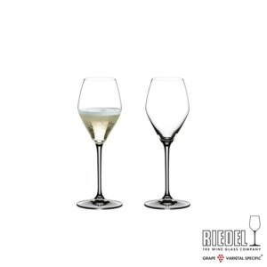 Taça para Champagne 330ml Riedel Heart to Heart 2 Peças