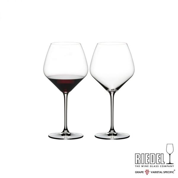 Taça para Pinot Noir 770ml Riedel Heart to Heart 2 Peças