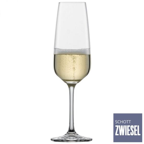Taça para Champagne 283ml Schott Zwiesel Taste 6 Peças de Cristal