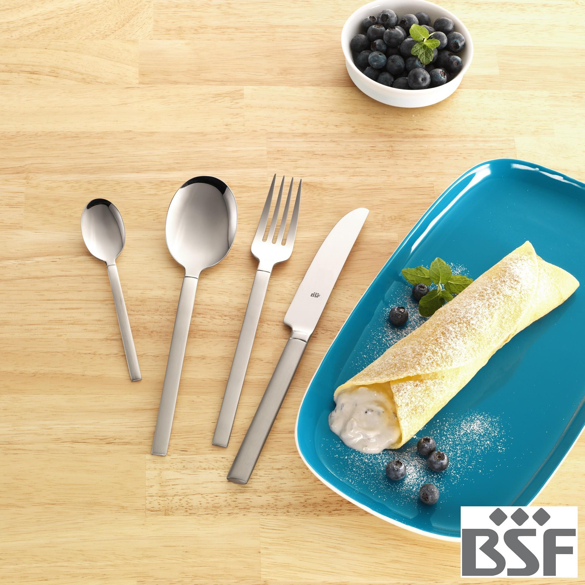 Colher de Sobremesa BSF Carrara Avulsa Caixa com 10 Peças