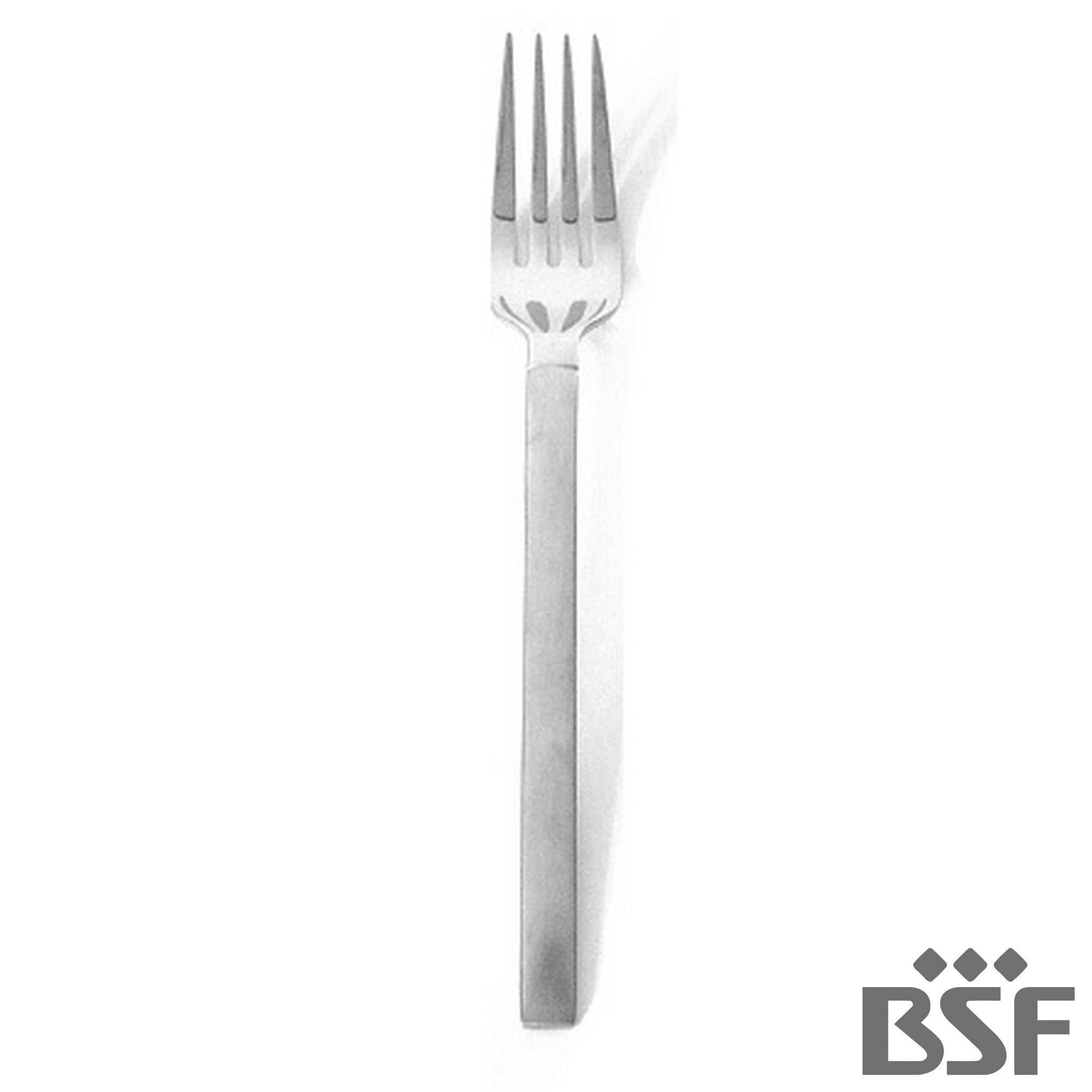 Garfo de Mesa BSF Carrara Avulso Caixa com 10 Peças
