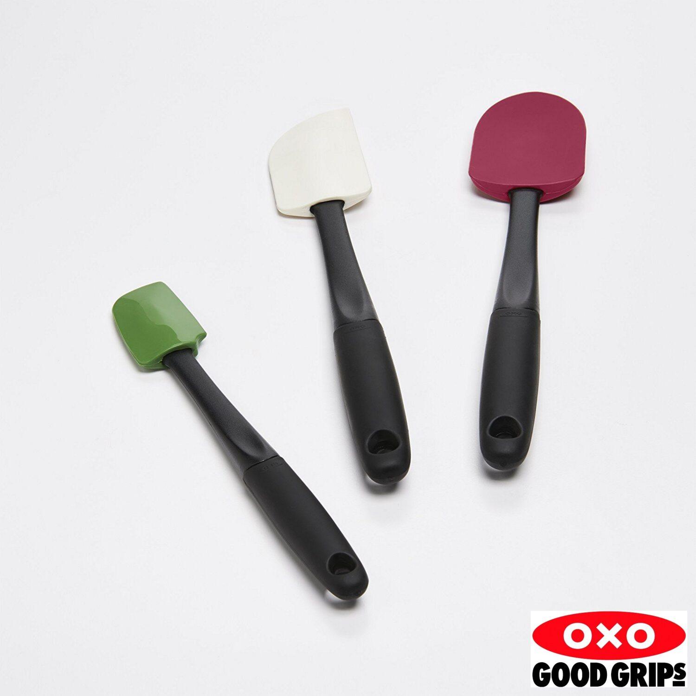 Conjunto de Espátulas Oxo Good Grips de Silicone 3 Peças