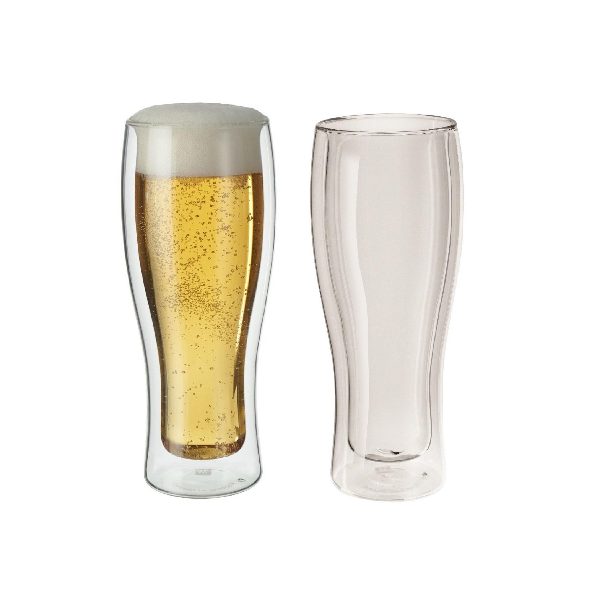 Jogo de Copos para Cerveja 414ml Zwilling Sorrento 2 Peças Parede Dupla