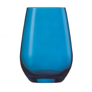 Copo para Água e Suco Azul 397ml Schott Zwiesel Viña Spots 6 Peças de Cristal