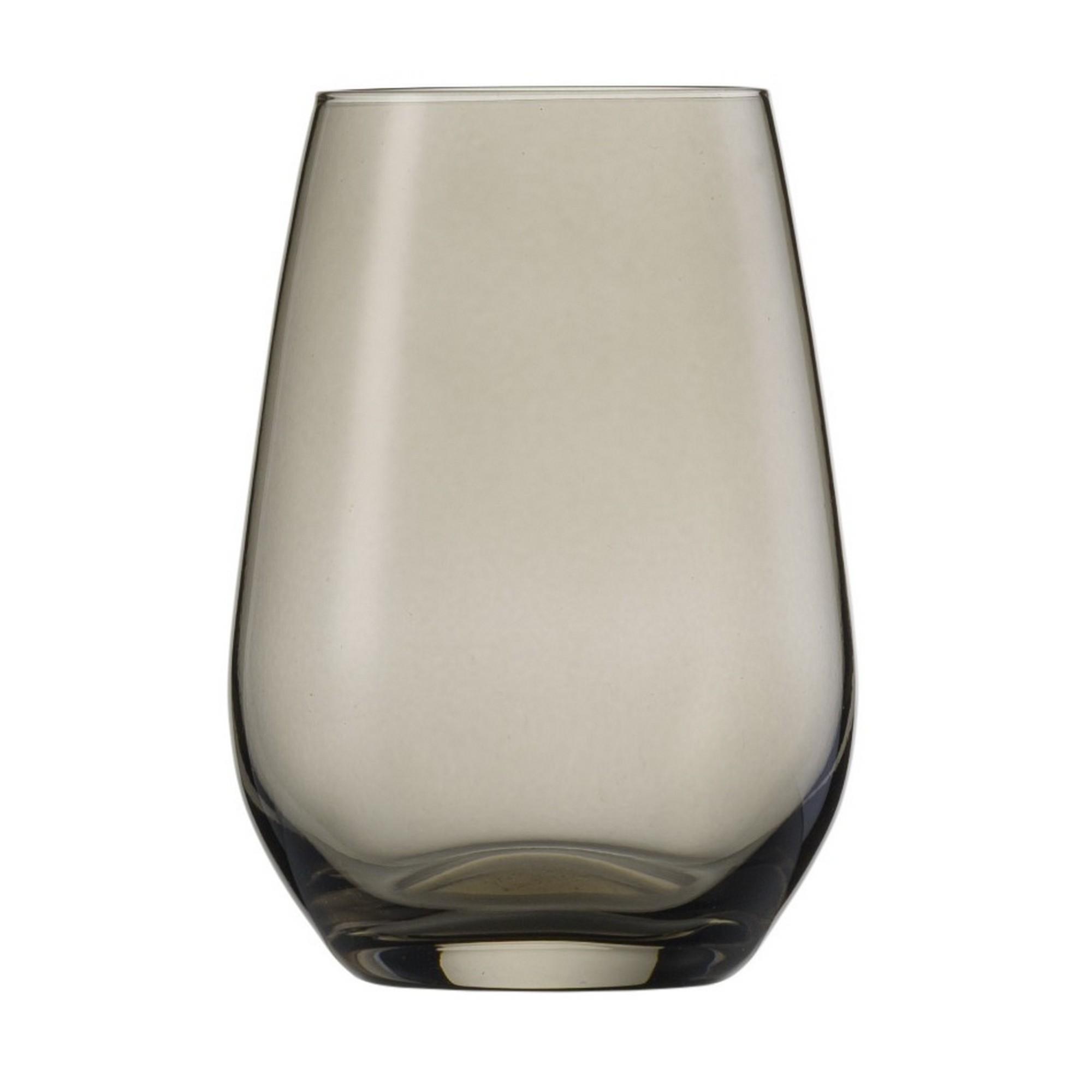 Copo para Água e Suco Cinza 385ml Schott Zwiesel Viña Spots 6 Peças de Cristal