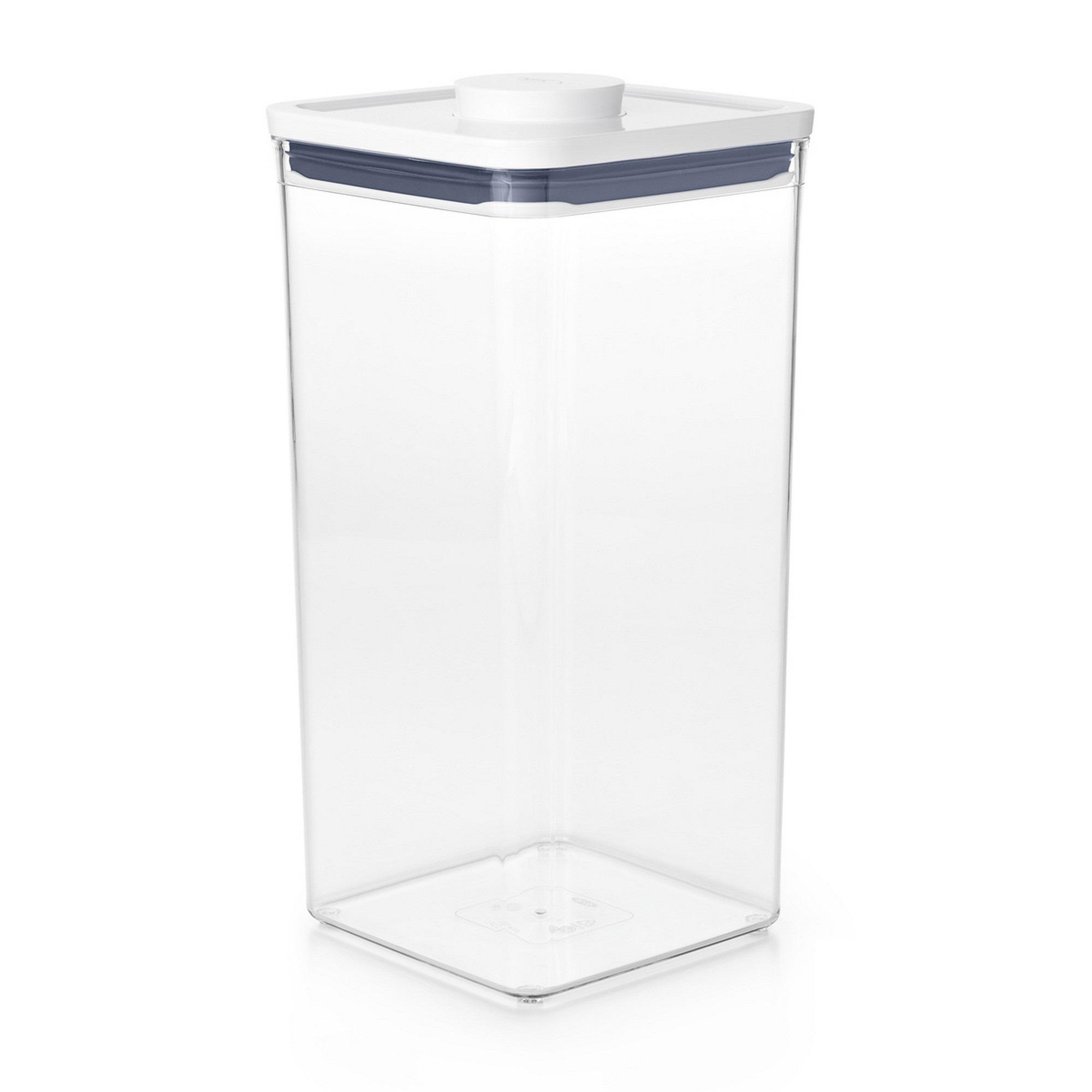 Pote Quadrado 5,7 litros Oxo Pop 2.0 com Fechamento Hermético