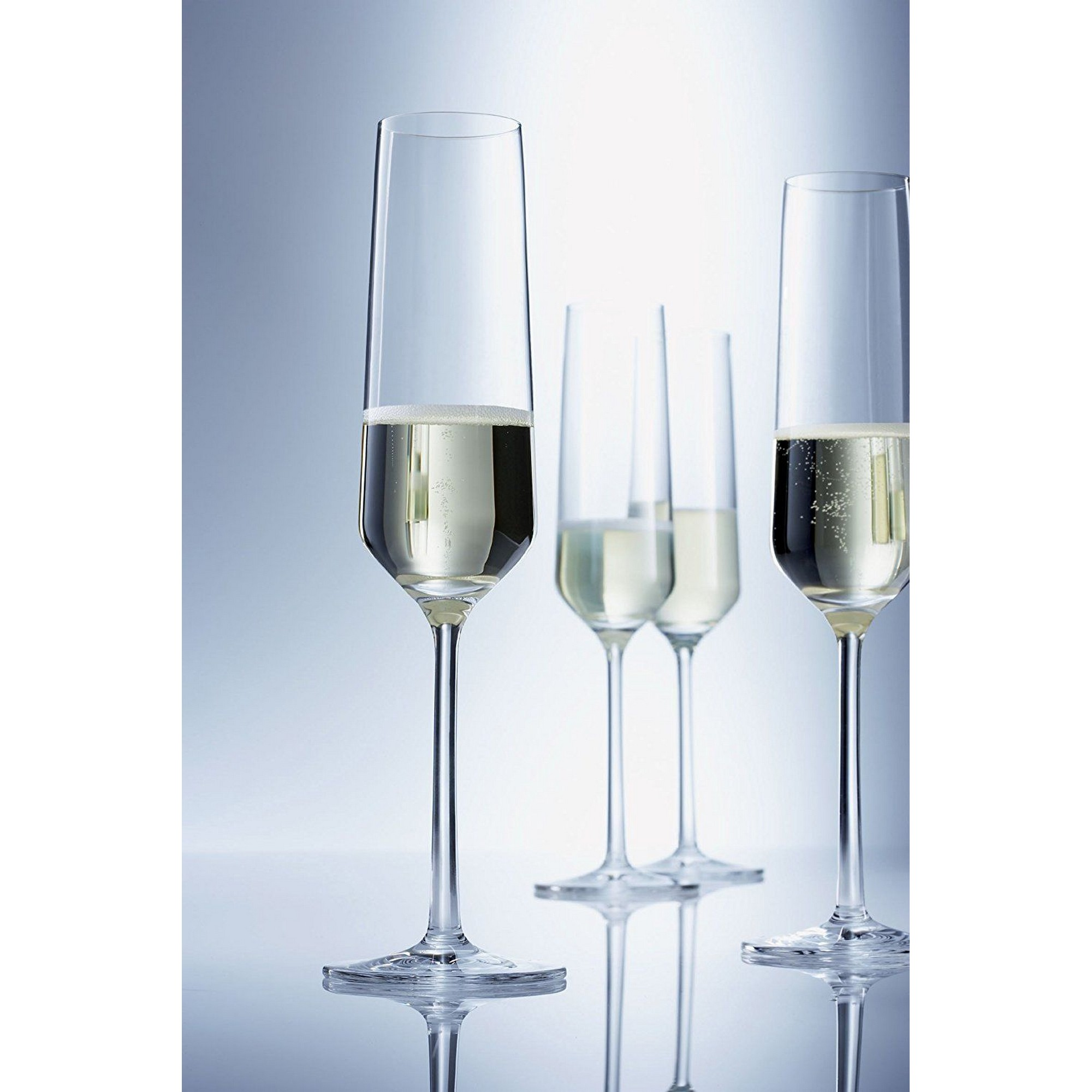 Taça para Champagne 215ml Schott Zwiesel Pure 6 Peças de Cristal