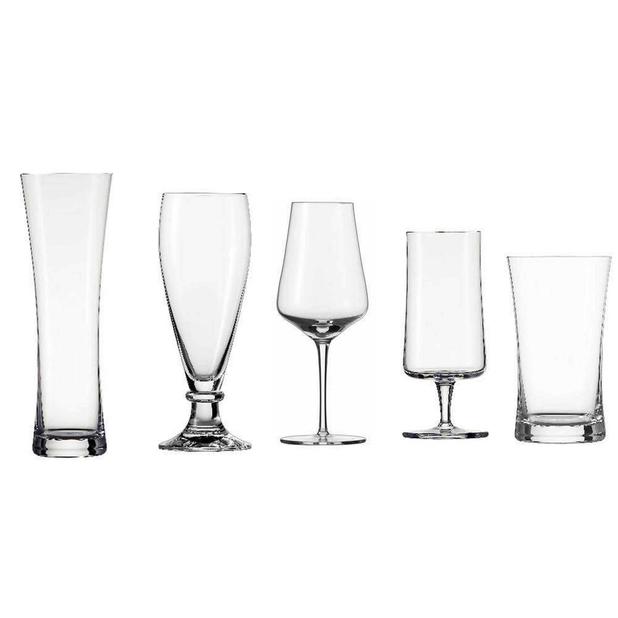 Kit Degustação para Cerveja Schott Zwiesel Beer Tasting 5 Peças de Cristal