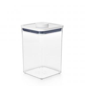 Pote Quadrado 4,2 litros Oxo Pop 2.0 com Fechamento Hermético