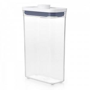 Pote Retangular 1,8 litro Oxo Pop 2.0 com Fechamento Hermético
