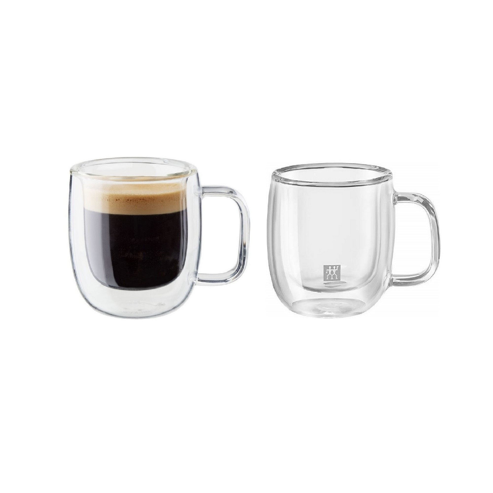 Jogo de Canecas para Espresso 80ml Zwilling Sorrento 2 Peças Parede Dupla
