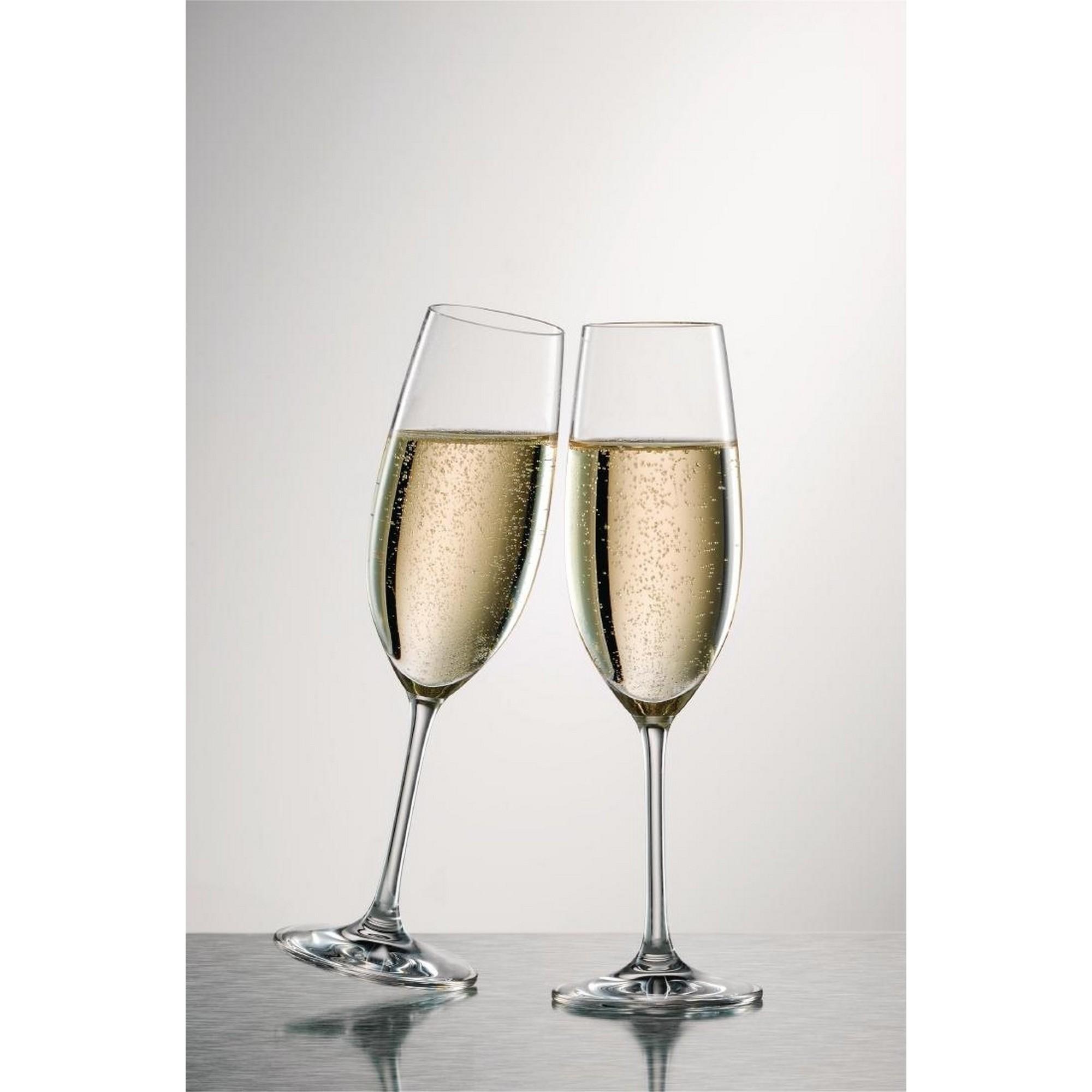 Kit de Taças Vinho Branco e Champagne Schott Zwiesel Ivento 12 Peças de Cristal