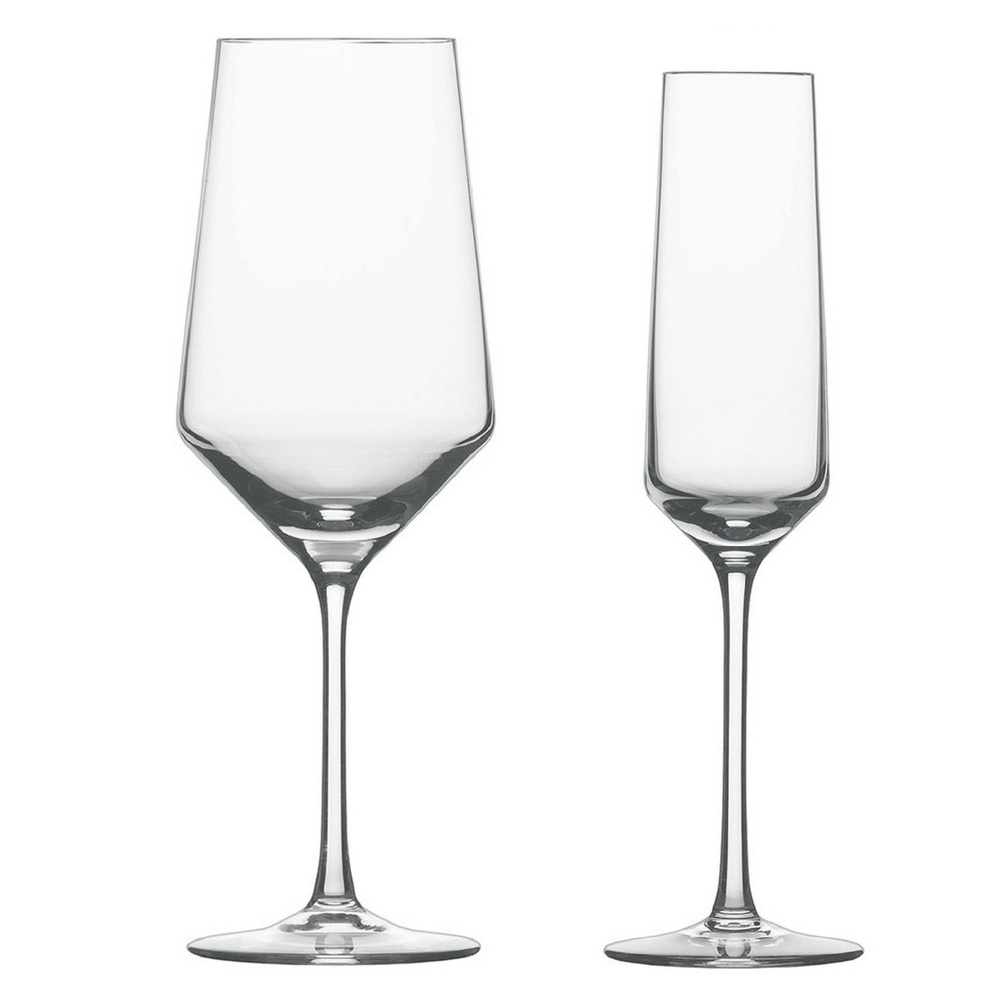 Kit de Taças Bordeaux e Champagne Schott Zwiesel Pure 12 Peças de Cristal