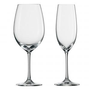 Kit de Taças Tinto e Champagne Schott Zwiesel Ivento 12 Peças de Cristal