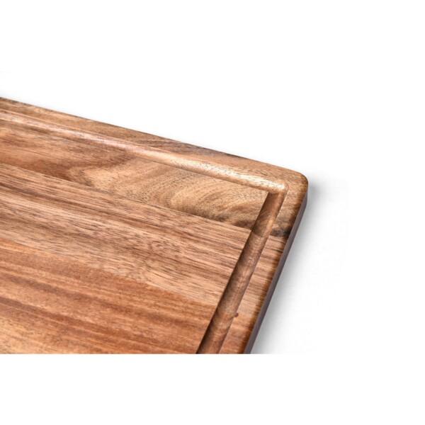 Tábua de Corte Retangular 36cm James.F de Madeira Acácia
