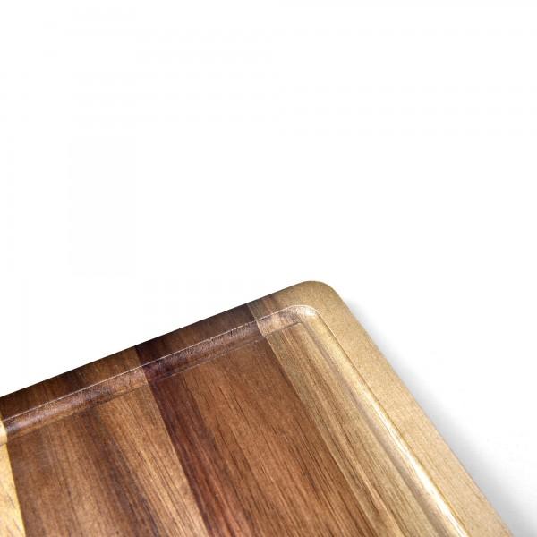 Tábua de Corte Retangular 40cm James.F de Madeira Acácia