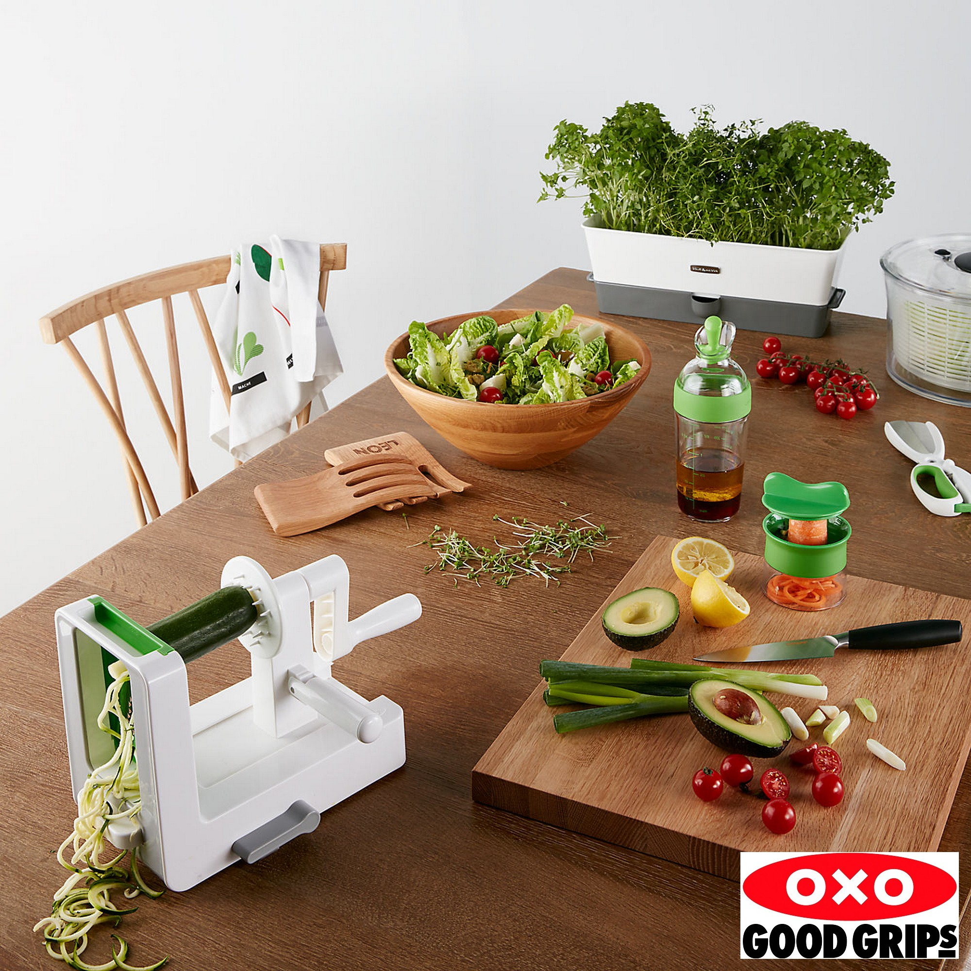 Espiralizador de Vegetais de Mesa Oxo Good Grips Tabletop Spiralizer