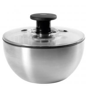 Lava e Seca Saladas Oxo Steel 6 litros de Aço Inox