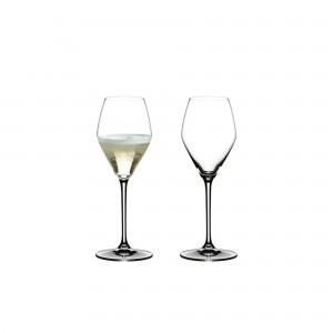 Taça Riedel para Champagne 330ml Heart to Heart 2 Peças