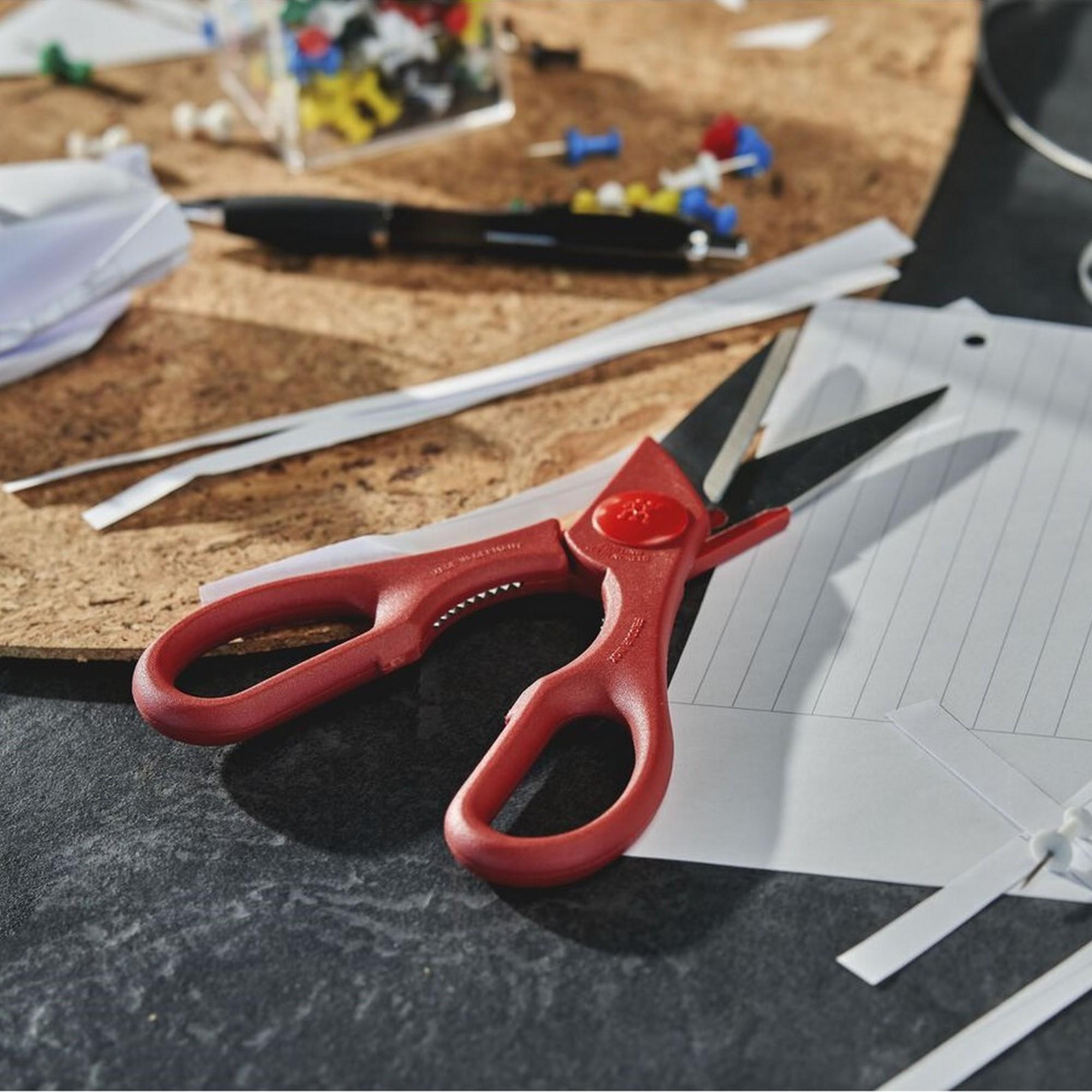 Tesoura de Cozinha Vermelha Zwilling Twin Shears 200mm de Aço Inox