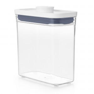 Pote Retangular 1,1 litro Oxo Pop 2.0 com Fechamento Hermético